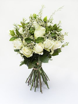 TFG: White Rose Bouquet
