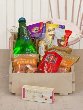 Snack & Gift Hampers: Chocs, Snacks and Dried Fruit