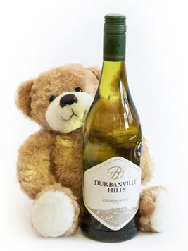 Wine: Teddy Bear & White Wine
