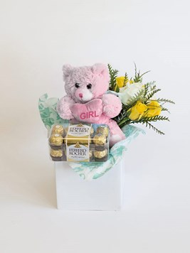 Snack & Gift Hampers: Celebrate a Baby Girl with Ferrero Rocher