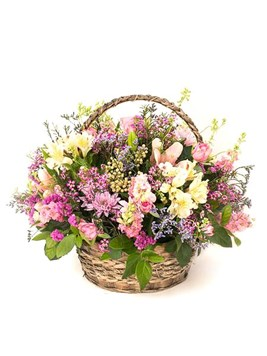 Arrangements: Country Basket