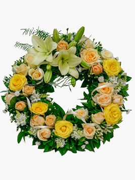 Doves: Funeral Wreath DV