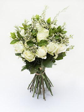 Bouquets: White Rose Bouquet