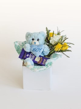 Snack & Gift Hampers: Celebrate A Baby Boy